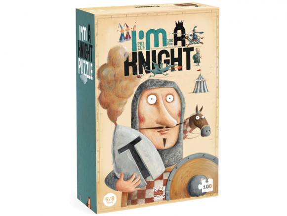 Londji Puzzle I'm a KNIGHT (100 Pieces)