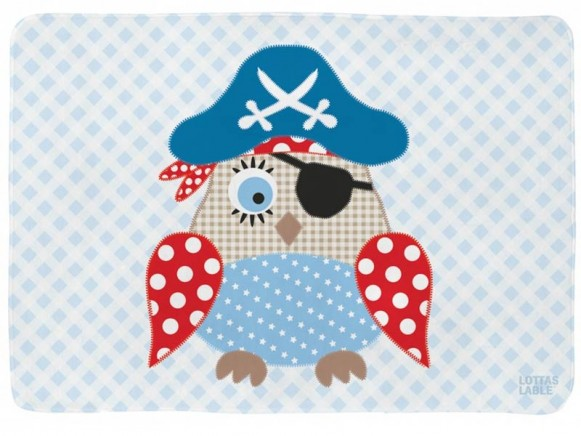 Lottas Lable playmat Pirate Owl