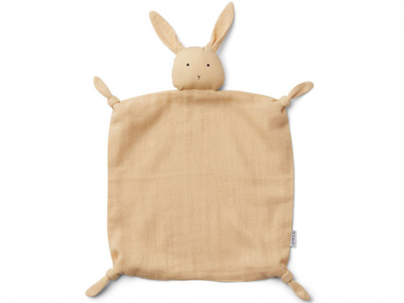 LIEWOOD Cuddle Cloth Agnete RABBIT smoothie yellow