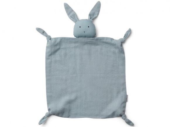 LIEWOOD Cuddle Cloth Agnete RABBIT sea blue