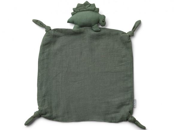 LIEWOOD Cuddle Cloth Agnete DINOSAUR faune green