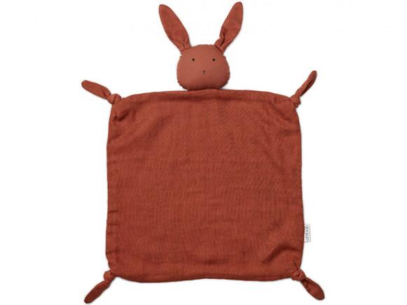 LIEWOOD Cuddle Cloth Agnete BUNNY rusty