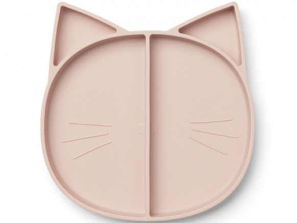LIEWOOD Compartment Plate Maddox CAT old rose