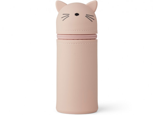 LIEWOOD Pencil Case Vitus CAT old rose
