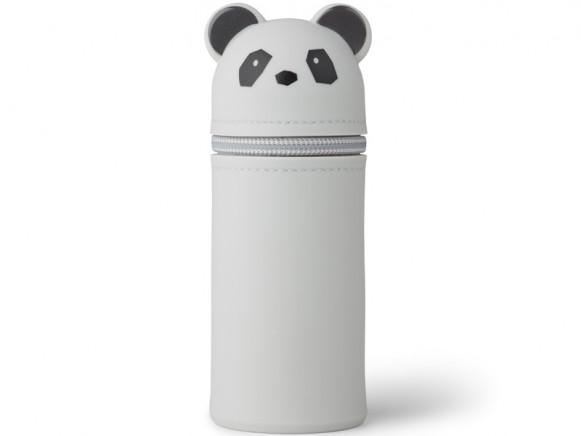 LIEWOOD Pencil Case Vitus PANDA grey