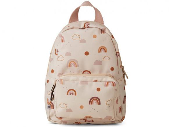 LIEWOOD Kids Mini Backpack Saxo RAINBOW LOVE sandy