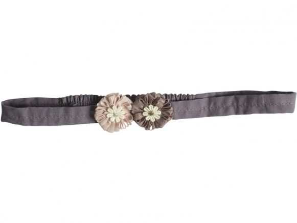 Maileg Hair Band Big Flower dusty rose