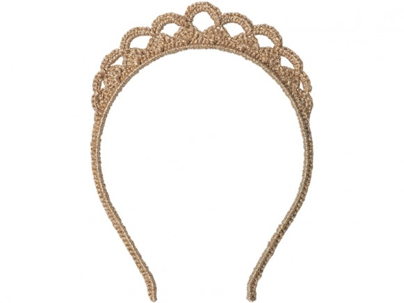 Maileg Hairband TIARA gold