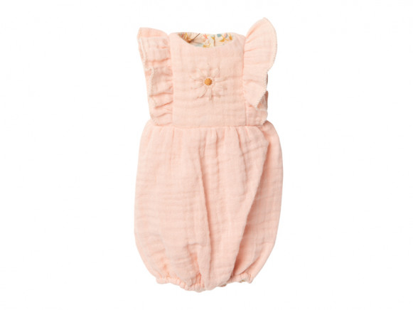 Maileg JUMPSUIT soft rose (Size 3)