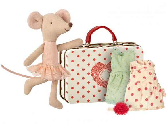 Maileg Mouse Big Sister Ballerina with 2 Dresses