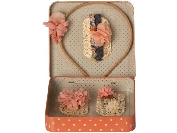 Maileg Hair Accessories Gift Set rose