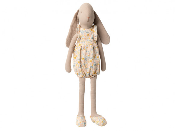 Maileg Bunny with FLOWER SUIT (Size 4)