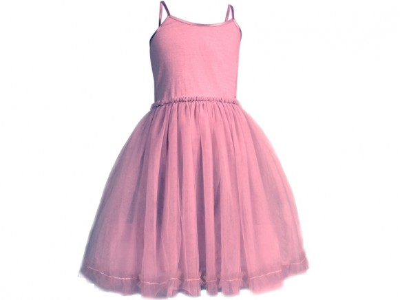 Maileg Princess Tulle Dress Old Rose (6-8 years)