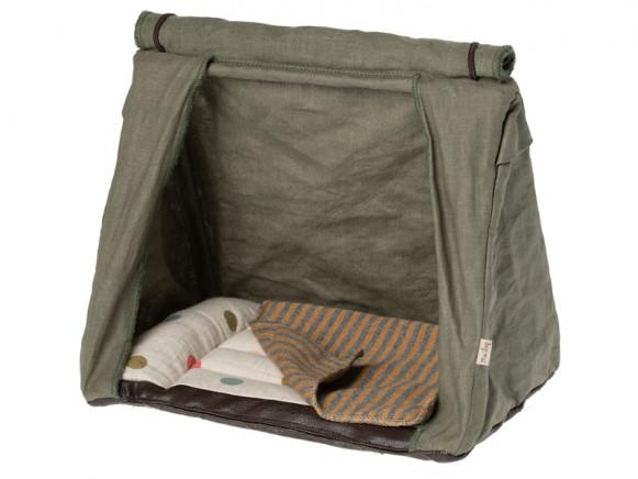 Maileg Happy Camper Tent MOUSE khaki