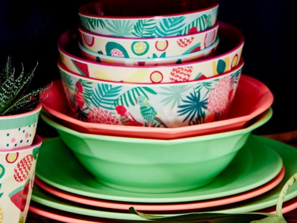 Melamine bowl by RICE Denmark