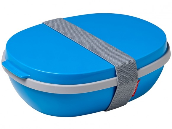 Mepal Lunchbox Ellipse Duo AQUA