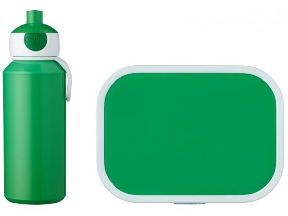 Mepal Lunch box set with water bottle GREEN