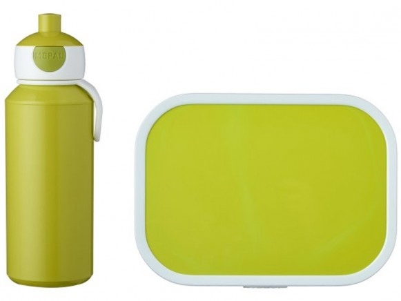 Mepal Lunch box set with water bottle LIME