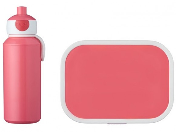 Mepal Lunch box set with water bottle PINK