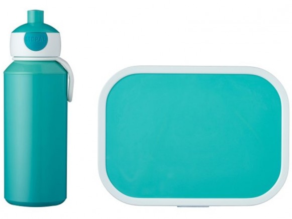 Mepal Lunch box set with water bottle TURQUOISE