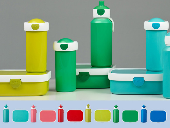Mepal Lunch box set with water bottle