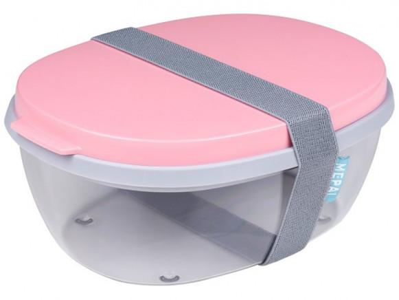 Mepal Salatbox Ellipse POWDER PINK
