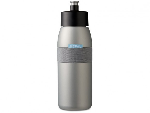 Mepal Sports bottle ellipse 500 ml SILVER
