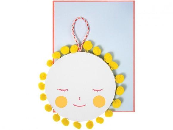 Meri Meri 3D-Card SUN NEW BABY