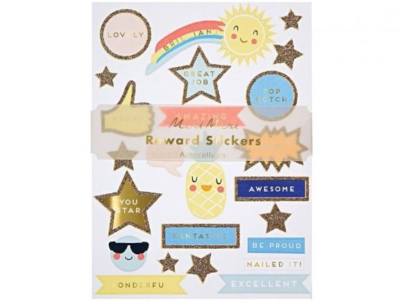 Meri Meri 10 Sticker Sheets REWARD