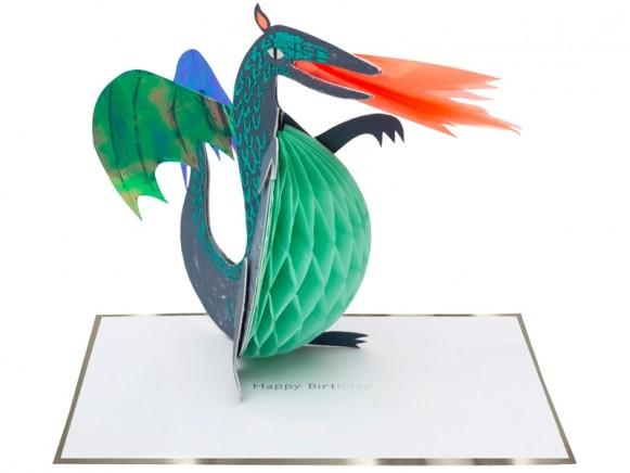 Meri Meri 3D-Card DRAGON