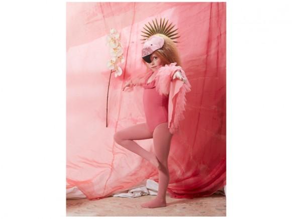 Meri Meri Cape Dress Up FLAMINGO