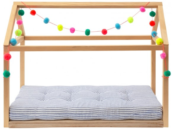 Meri Meri Wooden Doll Bed