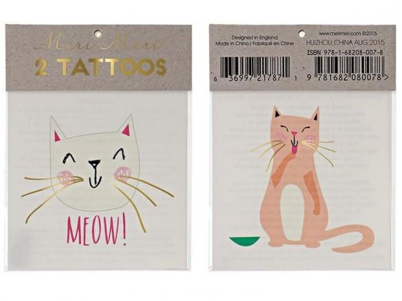 Meri Meri Tattoos CATS