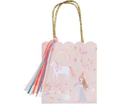 Meri Meri 8 Party Gift Bags MAGICAL PRINCESS