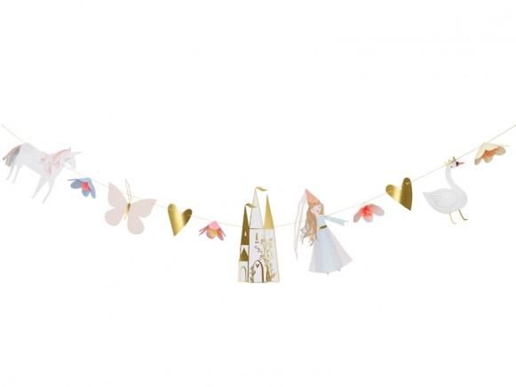Meri Meri Large Garland Kit MAGICAL PRINCESS