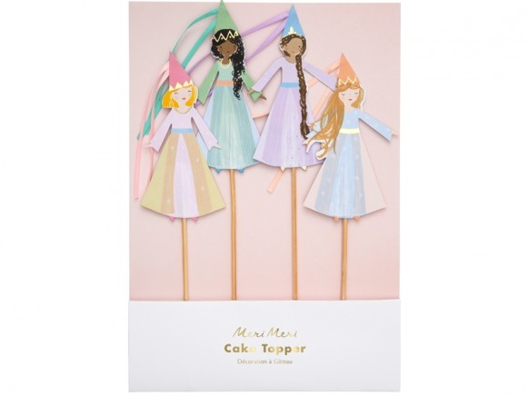 Meri Meri Cake Toppers MAGICAL PRINCESS