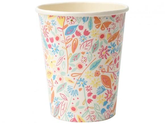 Meri Meri 8 Party Cups MAGICAL PRINCESS