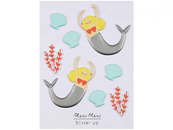 Meri Meri Puffy Stickers MERMAID