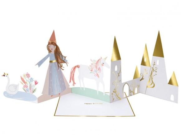 Meri Meri 3D-Card PRINCESS
