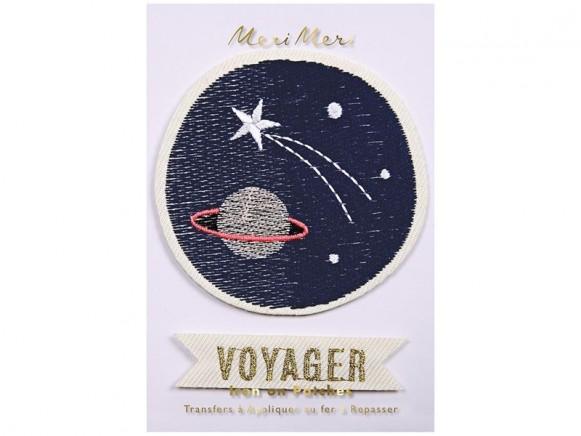 Meri Meri Iron On Patches SPACE VOYAGER