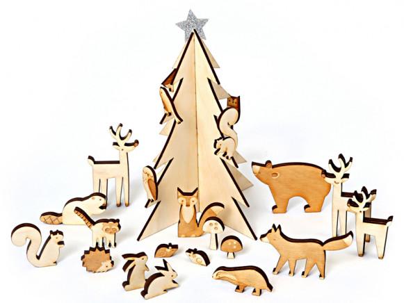 Meri Meri Advent Calendar WOODLAND ANIMALS