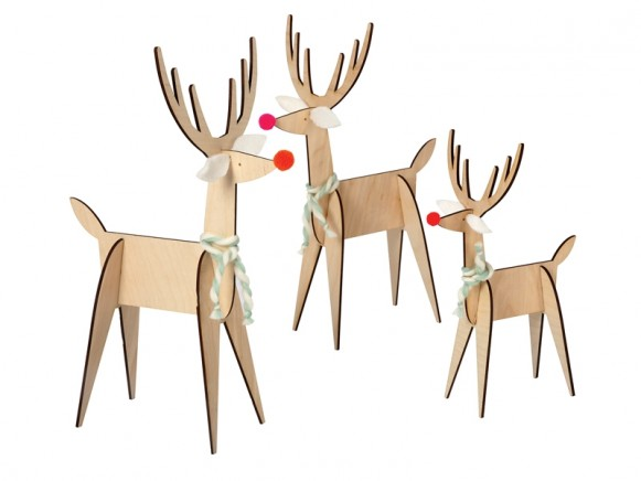 Meri Meri Christmas Decoration 3 REINDEER