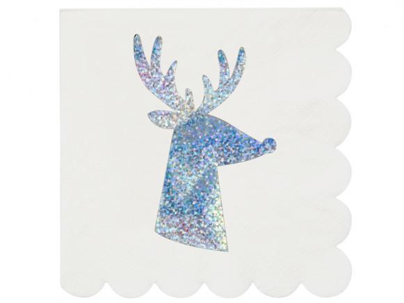 Meri Meri Small Reindeer Napkins