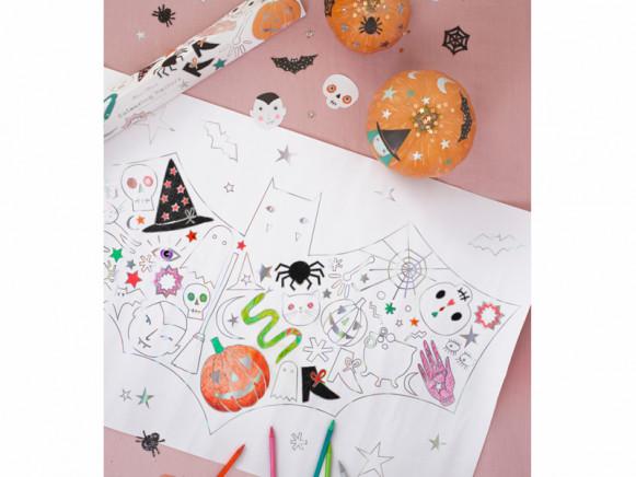 Meri Meri XL Colouring Posters HALLOWEEN