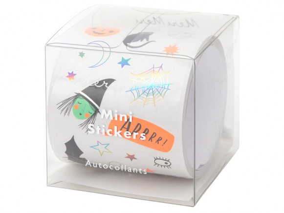 Meri Meri 500 Mini Sticker Roll HALLOWEEN ICONS