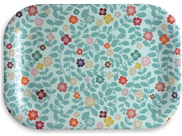 Melamine tray Fleurs by mini labo