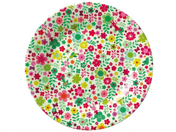 """Melamine plate """"Camouflage"""" by Mini Labo"""