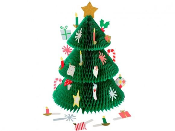 Meri Meri Honeycomb Advent Calendar XMAS TREE