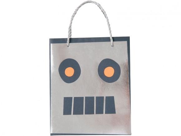 Meri Meri Party Gift Bags SPACE ROBOT