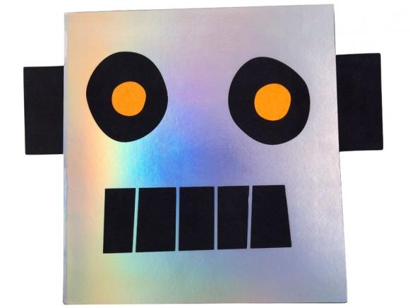 Meri Meri Stickers & Sketch Book ROBOT
